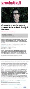 Sulle scie di Fridtjof Nansen (concerto e performance video) - Crushsite.it.pdf (page 1 of 2)