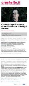 Sulle scie di Fridtjof Nansen (concerto e performance video) - Crushsite.it.pdf (page 1 of 2)