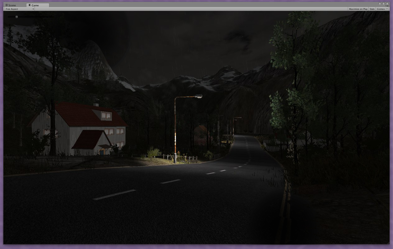 The Village is beginning to caom along nicely, but was having problems getting a clud of bugs to appear around each lamp... a must!